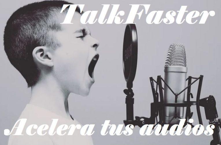 App para acelerar audios en Whatsapp