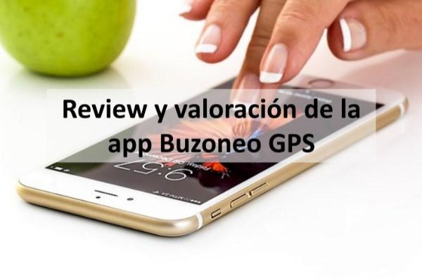 Review y valoración de la app Buzoneo GPS